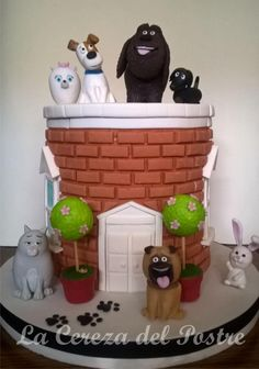 The Secret Life of Pets - Cake by La Cereza del Postre La Plata