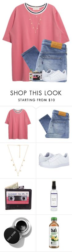 """""""Just finished watching atypical and it was so good!"""" by brynnss ❤ liked on Polyvore featuring Levi's Made & Crafted, Child Of Wild, adidas and The Laundress"""