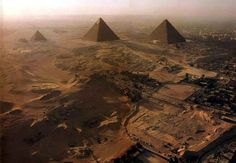 One place I've been are the Pyramids of Giza, located in Cairo, Egypt. I went to Egypt for a soccer tournament and I explored many different place in Cairo, Egypt. Giza Egypt, Pyramids Of Giza, Luxor Egypt, Blue Sky Travel, Wonderful Places, Beautiful Places, Places Around The World, Around The Worlds, Egypt Travel