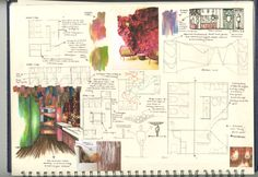 Toilets to die for - Sketchbook Interior Design Sketchbooks, Interior Design Colleges, Diary Ideas, Visual Diary, Toilets, Restoration, Restaurant, Journal, Goals