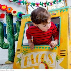 OTO Taco Truck is a big truck-shaped playhouse for kids. It's got super detailed illustrations, and is made in the USA!