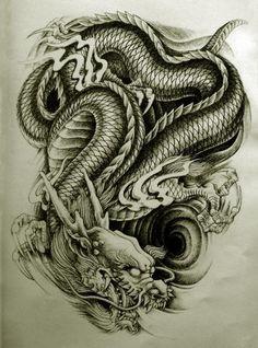 oriental back tattoo designs - Google Search
