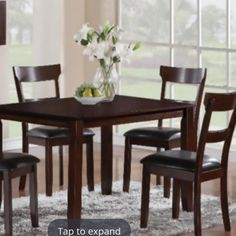 Warm Tone Dining Room Decor