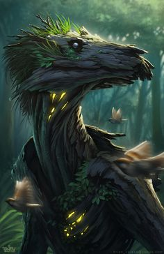 50 Fantasy Art Ideas You Will Love in All the pins of my fantasy art were fixed to this clipboard before they were gradually moved to my more narrowly focused fantastic art boards. If you …, Art Source by letsdoitogether Forest Creatures, Mythical Creatures Art, Mythological Creatures, Magical Creatures, Woodland Creatures, Dark Fantasy Art, Fantasy Kunst, Fantasy Artwork, Monster Art