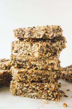 Quinoa Peanut Butter Bars (Vegan, Gluten-Free)