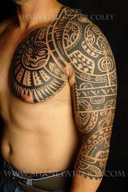 Dwayne 'The Rock' Johnson inspired tattoo.