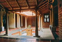 South India courtyard