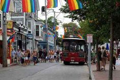 Commercial Street in Provincetown, Massachusetts, New England, USA #ptown