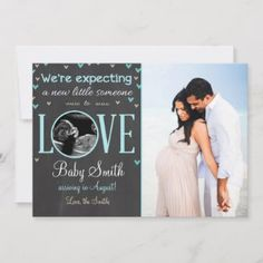 Shop Love Pregnancy Announcement Ultrasound Blue Boy created by Anietillustration. Pregnancy Announcement Photos, Pregnancy Announcement Cards, Pregnancy Photos, Pregnant With Boy, Ultrasound Pictures, Baby Due, Pregnancy Humor, Photo Heart, Expecting Baby