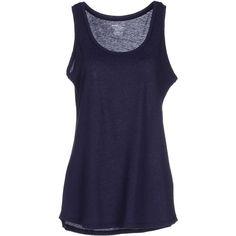 Majestic Vest ($97) ❤ liked on Polyvore featuring outerwear, vests, dark blue, pocket vest, sleeveless vest, sleeveless waistcoat, vest waistcoat and blue vest