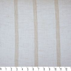 This would make a gorgeous scarf! IL026 GAUZE STRIPES - 100% Linen - Sheer Weight (2.5 oz/yd2)