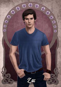 Esse é Zac, cuja história nos surpreende em Lua das Fadas. Na sequência, em O Trono Sem Rei, ele é um jovem que se apaixona e por quem nos apaixonamos também. E na Canção dos Quatro Ventos... Bem, é melhor você descobrir sozinho... www.linhastortas.com
