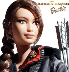 Hunger Games - Katniss Barbie Doll