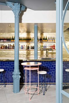Ham Sandwich & Champaign Bar in Madrid by Lucas y Hernández-Gil | Yellowtrace
