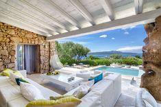 Porto Cervo, Sardinia, Italy luxury villa with pool ocean front