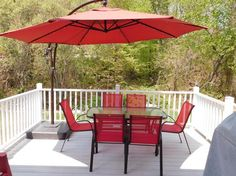 Trademark Innovations Offset Patio 10 Cantilever Umbrella Products Pinterest And