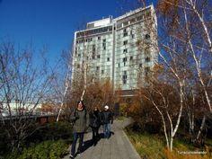 TURISCURIOSA EN USA: DÍA 7. CHELSEA Y EL HIGH LINE ¡QUÉ FRÍO! Parque High Line.
