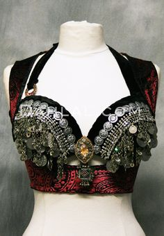 UNDERBUST VEST by Off The Nile, Belly Dance Top - Dahlal Internationale Store …