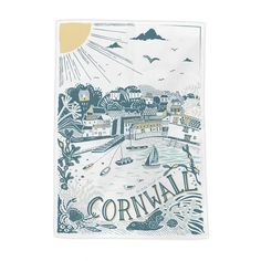Our Tea Towels are the perfect accompaniment for any art lovers kitchen and will make your drying up a bit more enjoyable! Cornish Cottage, Newquay, Love Art, Tea Towels, Make It Yourself, Collection, Dish Towels, Kitchen Towels