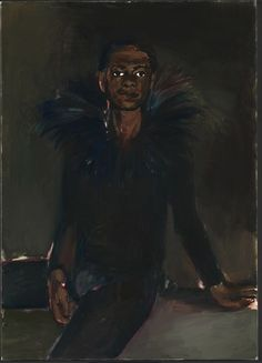 Lynette Yiadom Boakye is an acclaimed British artist of Ghanaian descent. The Guardian describes her as 'one of life's great manipulators when it comes to paint'. She surely knows how to manipulate the eye. Her paintings look like days worth of work.