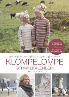 Klompelompe strikkekalender av Hanne Andreassen Hjelmås og Torunn Steinsland (Innbundet)