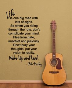 Another great Bob Marley Quote. by HappyWallz,