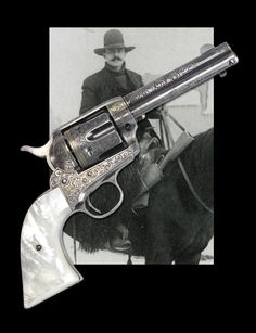 "Extraordinarily Rare & Historic Helfricht Engraved & Gold Inlaid Colt Single Action Army Revolver Presented to ""Bad Good Guy"" Robert D. Meldrum from the Tomboy Gold Mining Company of Telluride Colorado. Meldrum killed at least 14 men during his lifetime."