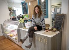 Raw foods visionary opens stand-alone shop in Jackson Hole, Wyoming. Cheers to Chamber Members!