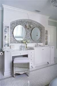 These unfussy finishings — beadboard paneling in a creamy hue, a wooden dining table-turned-vanity, and unexpectedly outdoorsy sconces — can give a bathroom all the Let's remodel this old bathroom! Description from bathromdesign.com. I searched for this on bing.com/images
