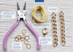 MY DIY   Knot Chain Bracelet   I SPY DIY