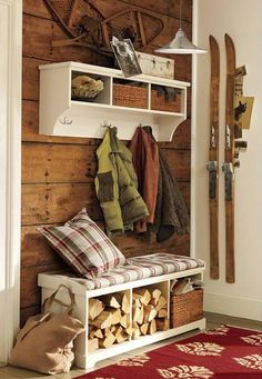living room wooden