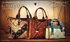 an elegant touch! LINGGA Tote Bag Proud as PRibuMI...®