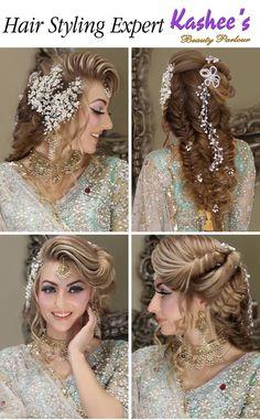 Kashee S Hair Pinterest Pakistani Bridal Hairstyles Hair