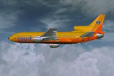 Flew with this,now defunct airline ,to the Paris Airshow in 1973 .Luton to Le Bourget courtline tristar - Bing Images