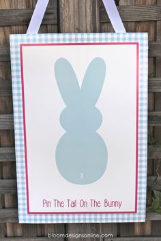 Pin The Tail On The Bunny or a giraffe