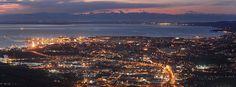 Tramonto a Trieste panorama mozzafiato - Foto Andrea Lasorte, Il Piccolo