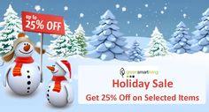 GreenSmartLiving is offering Holiday Sale: Get upto 25% discount on selected items. For more GreenSmartLiving Coupon Codes visit: http://www.couponcutcode.com/stores/greensmartliving/