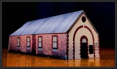 The Kellerberrin Museum Free Building Papercraft Download