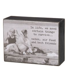 'Best Friends' Box Sign by Primitives by Kathy #zulily #zulilyfinds