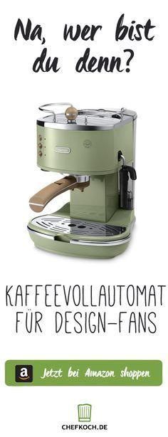 Espresso-Siebträgermaschine im Retro-Look