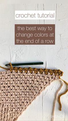 Crochet Stitches For Beginners, Beginner Crochet Projects, Crochet Videos, Crochet Basics, Beginner Crochet Patterns, Crochet Stitches Free, Crochet Tutorials, Learn To Crochet, Easy Crochet