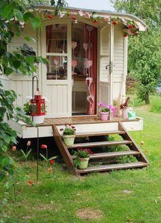 caravan....plum water cottage