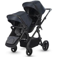 Effortlessly stylish with pared back detailing, Coast is Silver Cross's lightest and most streamlined single to double stroller. Double Strollers, Baby Strollers, Stroller Board, Convertible Stroller, Single Stroller, Travel System, Prams, Tandem, Black Satin
