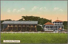From New York Public Library Digital Collections. Old Photos, Vintage Photos, Burma Myanmar, Spring Racing, Yangon, Modern History, Mandalay, New York Public Library, Homeland