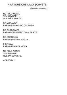 Infantividades: Poesia com Sérgio Caparelli