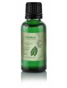 Citronella Organic Essential Oil http://enaissance.co.uk/Essential-Oils/Essential-Organic/Organic-Citronella-Essential-Oil