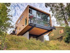 SeattleModern The Original   Replinger Hossner W Seattle house  steep slope