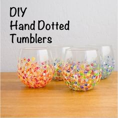Craft Fabulous: Glass Painting Pinterest Party