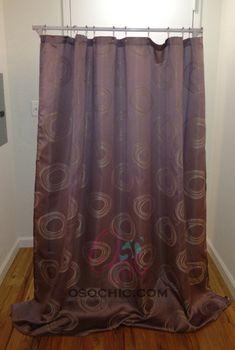 Diy Room Divider Budget Friendly Hanging Rack Shower