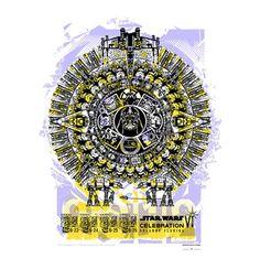 Celebration VI Art Print  By Ken Phipps